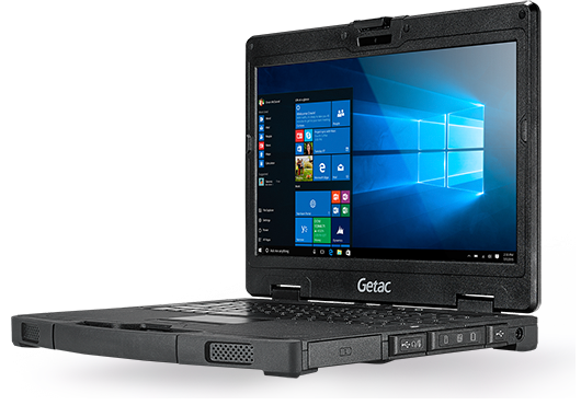 Notebook Getac S410 Getac Equipos Rugged Cat 225 Logo De